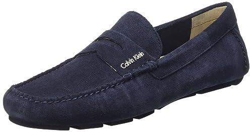 Calvin Klein Tyme - Mocasines, Hombre, Azul (Mnt), 40: Amazon.es: Zapatos y complementos