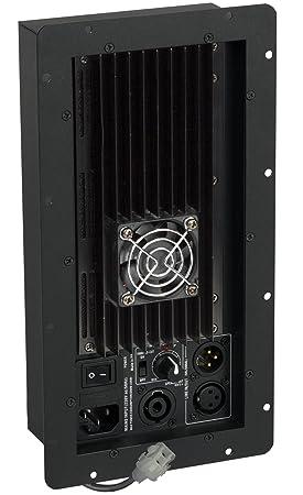 JB Systems AVM-1 Alámbrico Negro - Amplificador de audio (500 W, D