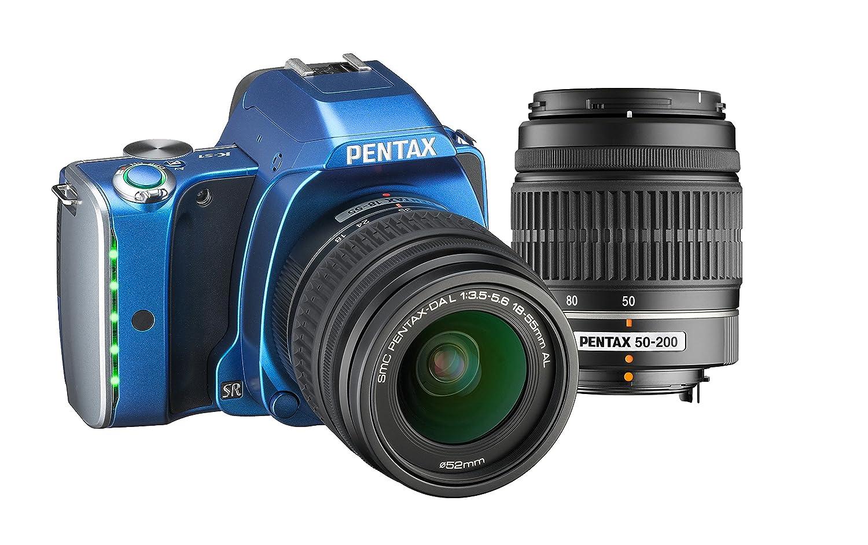 Pentax K-S1 - Kit de Lentes SLR con DA L 18-55 mm y DA L 50-200 mm ...