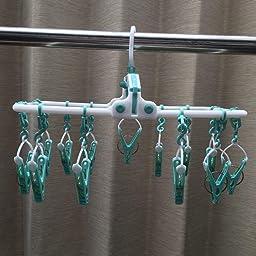 Amazon Co Jp ツウィンモール 洗濯物干しアルミパラソルハンガー グレー 高さ44cm Beilu Be 08g ホーム キッチン