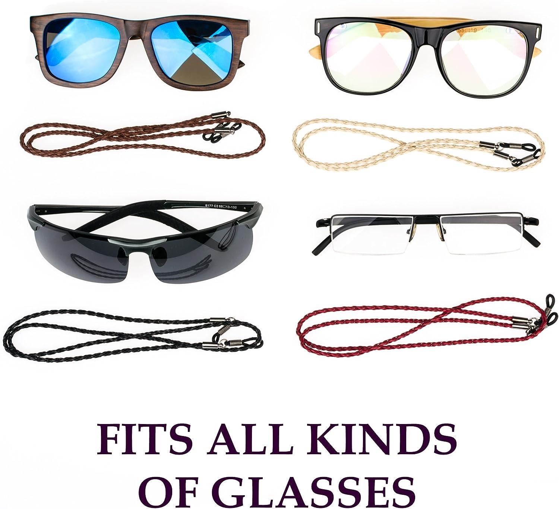 Correa de piel sint/ética para gafas de sol