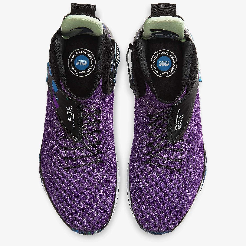 Nike Air Zoom UNVRS Basketball Shoes Vivid Purple/White