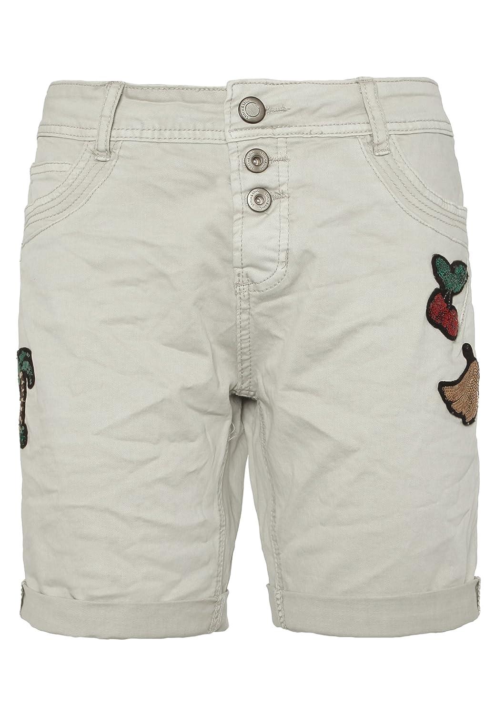 Stitch /& Soul Damen Bermuda-Shorts mit Aufschlag