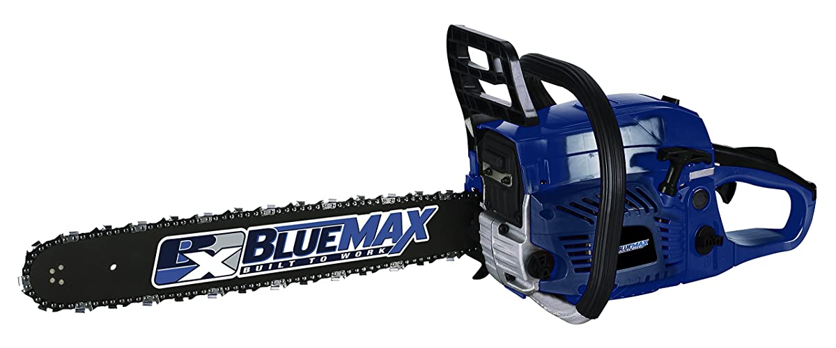 Blue Max Chainsaw – Gas Powered Chainsaw