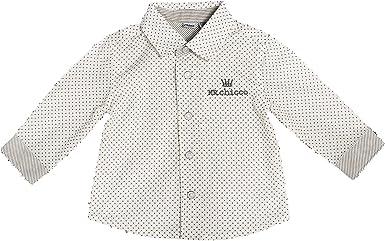 Chicco - Camisa - para bebé niño beige/grigio 12 Months ...