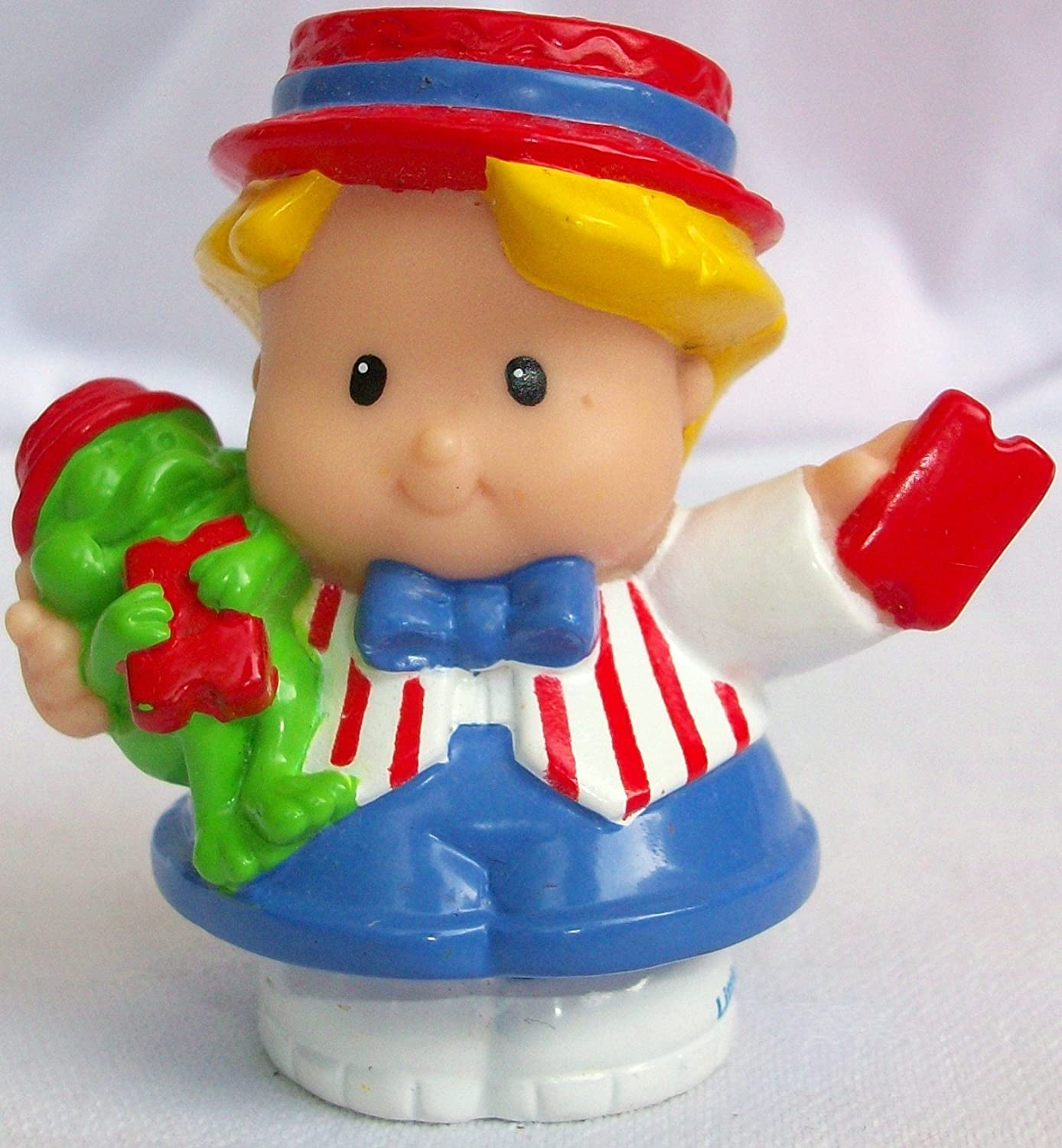 Fisher Price Little People Eddie Circus Ring Master Replacement Figure Doll Toy mattel