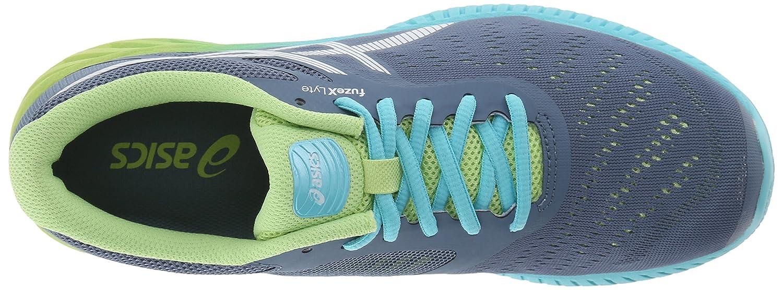 ASICS Women's fuzeX Lyte Running Shoe B00YB0KWJ4 11.5 B(M) US|Blue Mirage/White/Sharp Green