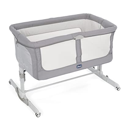 Cuna Chicco Next2Me Dream (color gris grafito)