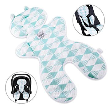 2Packs of Summer Mesh Cool Seat Pad//Cushion//Liner for Stroller and Car Seat