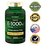 Horbaach Vitamin E 1000 IU 200 Softgel Capsules