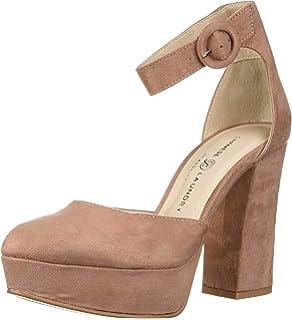 4816acbfd9616 Amazon.com | Steve Madden Women's Marykate Platform Heel, (9.5 US ...