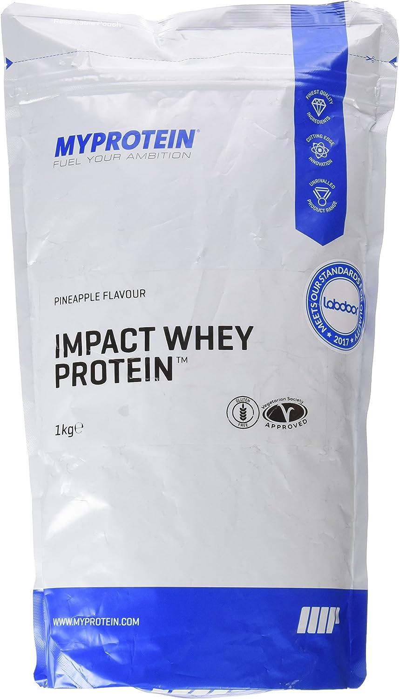 MyProtein Impact Whey Proteína de Suero, Sabor Piña - 1000 gr ...