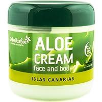 TABAIBA Aloe Vera-kräm ansiktskräm och kropp Aloe Vera Tabaibaloe, färsk, 1 antal, 300 ml