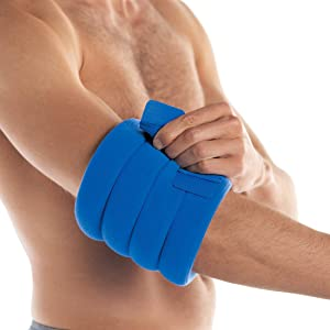 Bed Buddy Joint Wrap - Hot & Cold Therapy for Muscle Pain Relief and Joint Pain Relief - Large Heating Pad for Knee, Wrist, Elbow,Ankle,Arm or Leg, 2 Count