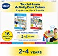 VTech Touch and Learn Activity Desk Deluxe 2-in-1 Preschool Bundle Expansion Pack for Age 2-4