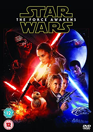 Image result for star wars the force awakens dvd