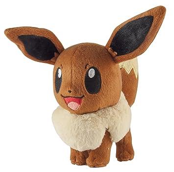 Tomy - Peluche Pokemon - Evoli 18cm - 0053941188979
