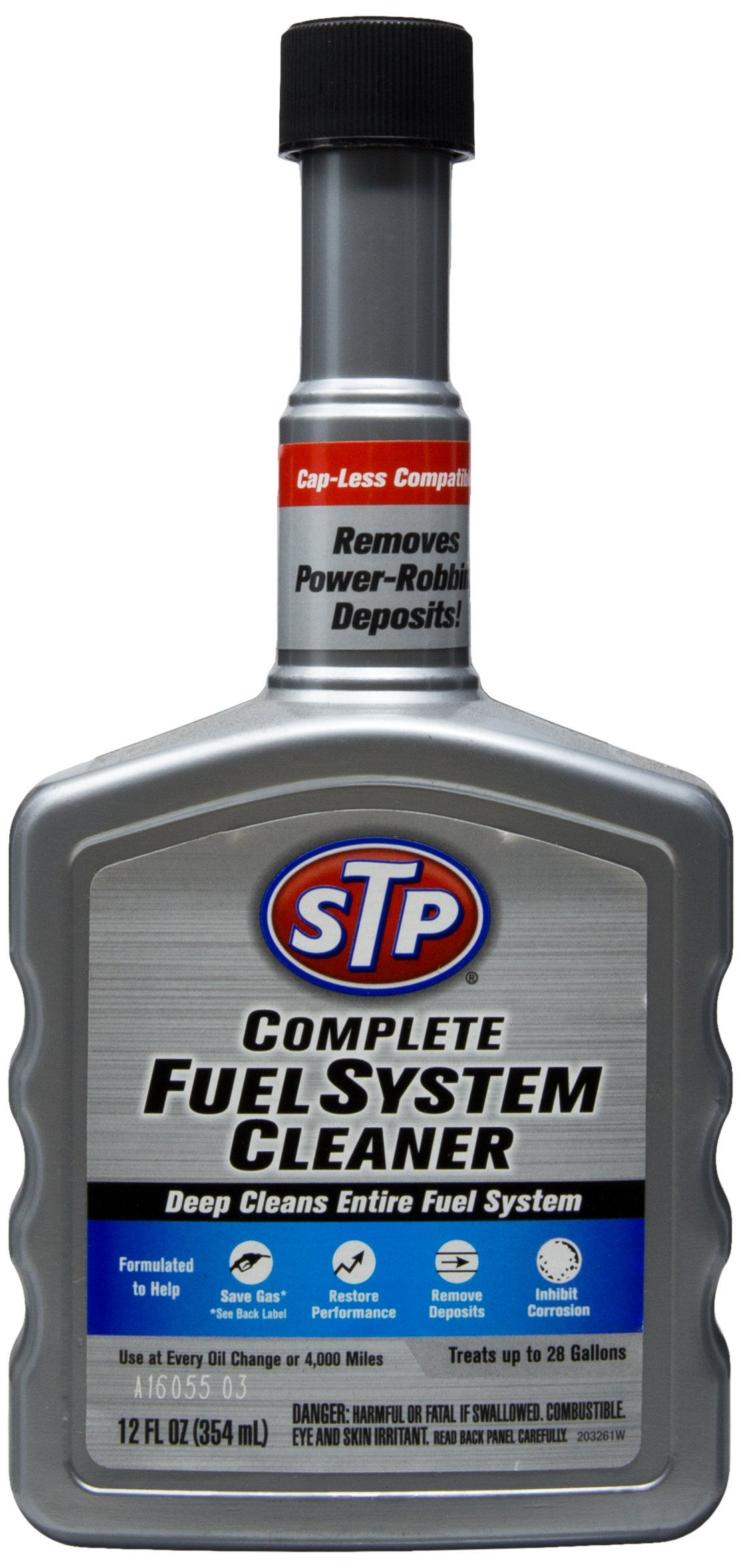 STP Complete Fuel System Cleaner (12 Fluid Ounces), 18025G by STP