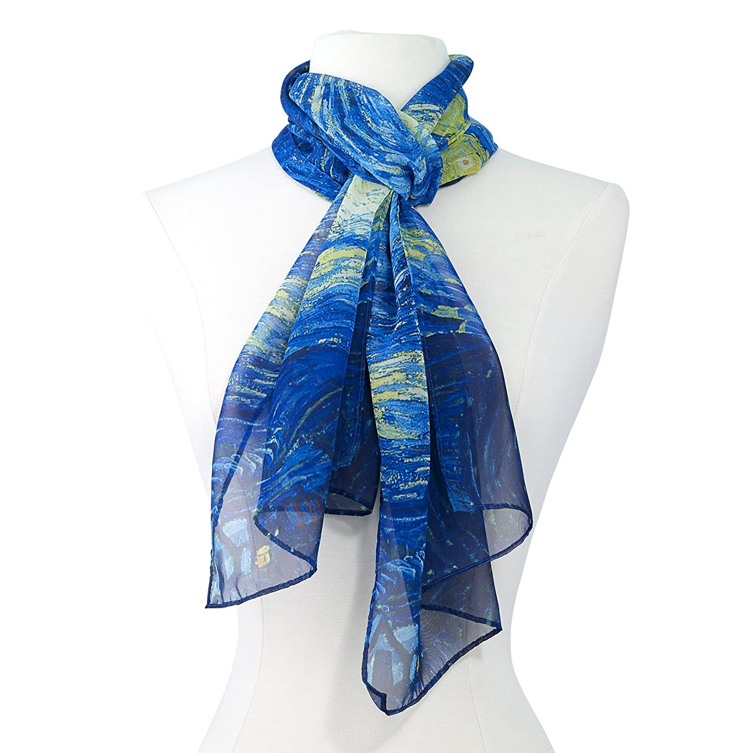 Van Gogh Starry Night Scarf GALLERIA ENTERPRISES INC. 840109