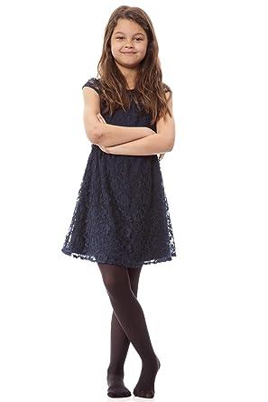 3a563ebee38 Girls 1 Pair Elle 40 Denier Opaque Tights: Amazon.co.uk: Clothing