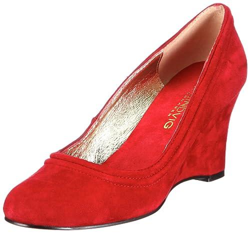 buy online 480ef 9e52d Lise Lindvig VICKY 112 175, Scarpe con tacco donna, Rosso ...