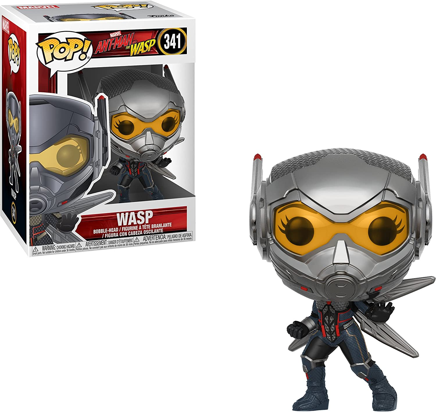 Funko Pop ant-man /& the Wasp-Wasp VINILE figure 10cm