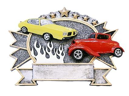 Amazoncom Decade Awards Car Show Plate Trophy Inch Wide - Unique car show awards