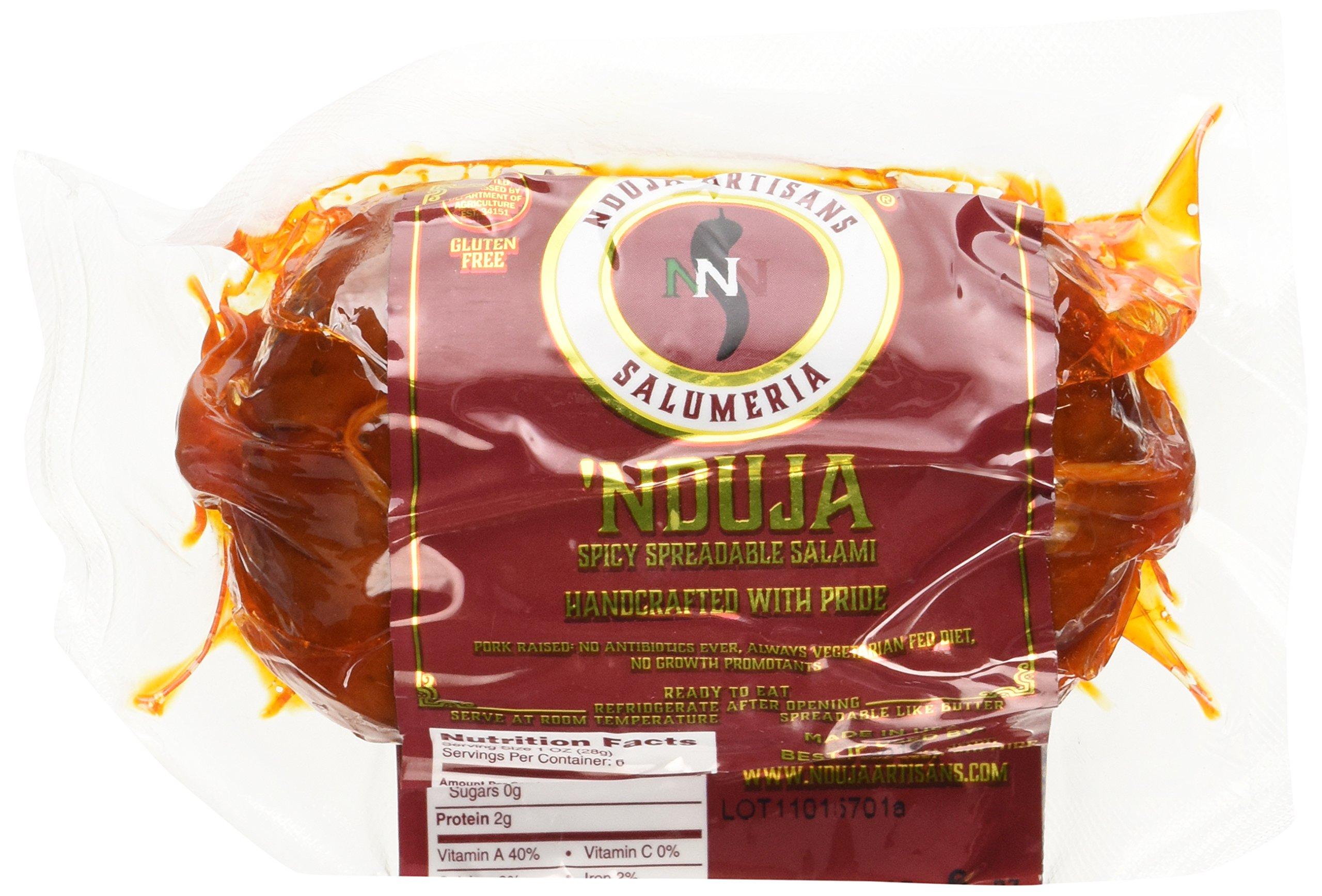 Nduja Artisans Spreadable Salami Spicy, 6 OZ