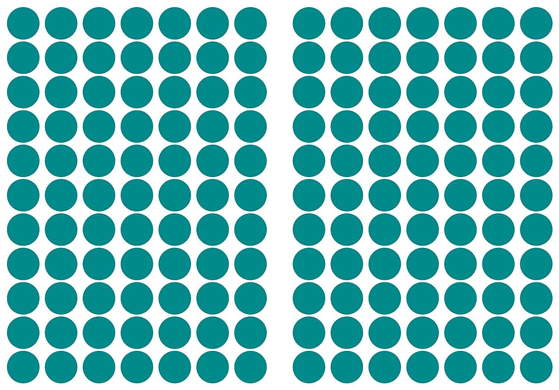"Aufkleber Markierungspunkte /""grün/"" 25mm 100 Stück"