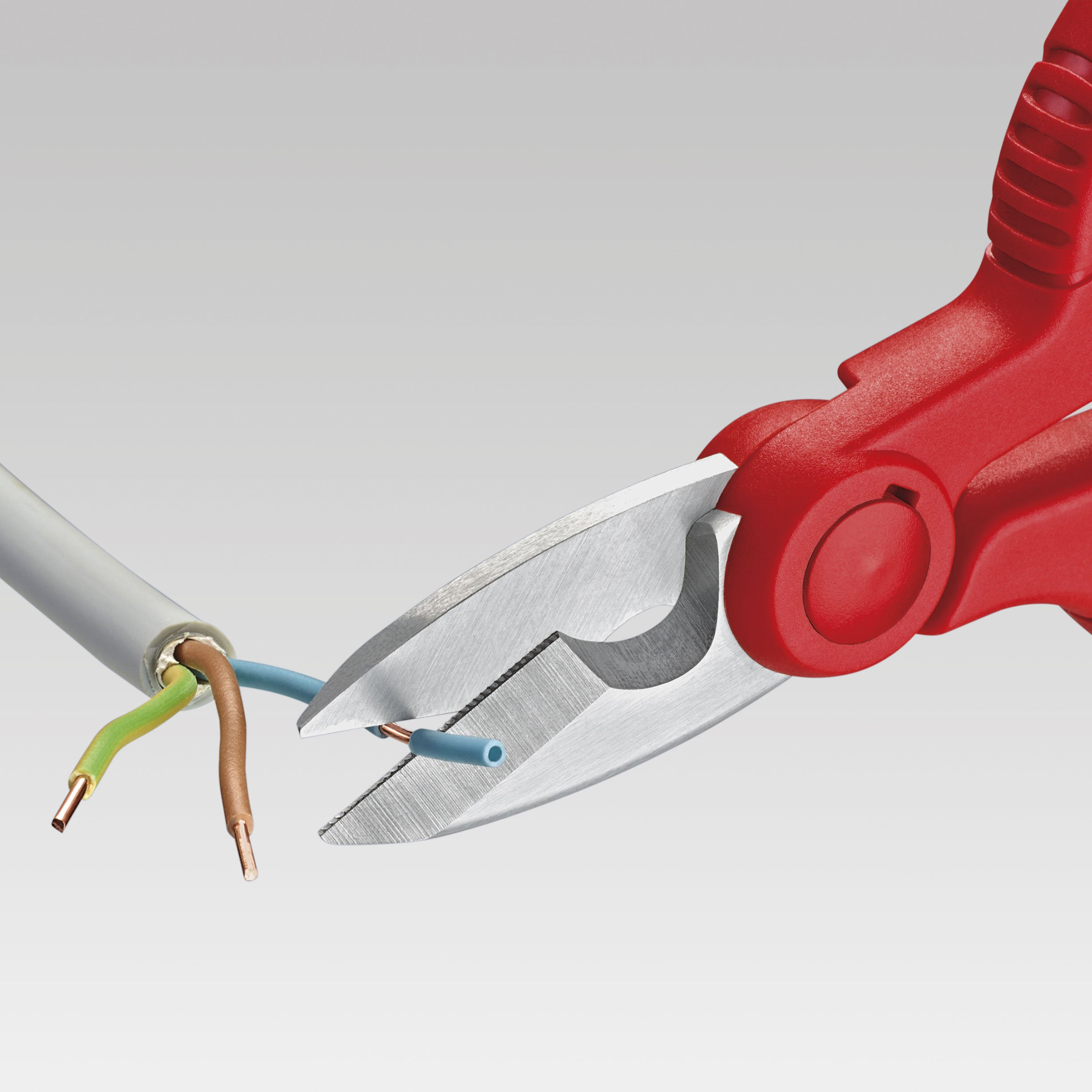 Knipex 95 05 155 SB Electrician's Shears 6,1'' by KNIPEX Tools (Image #5)
