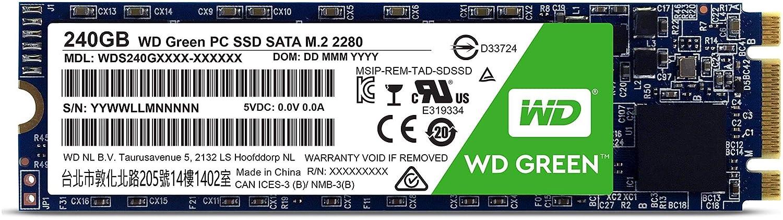 WD Green M.2, disco de estado só lido (SSD) interno de 120 GB - SATA a 6 Gb/s y 2,5 pulgadas - WDS120G1G0B disco de estado sólido (SSD) interno de 120 GB - SATA a 6 Gb/s y 2 Western Digital