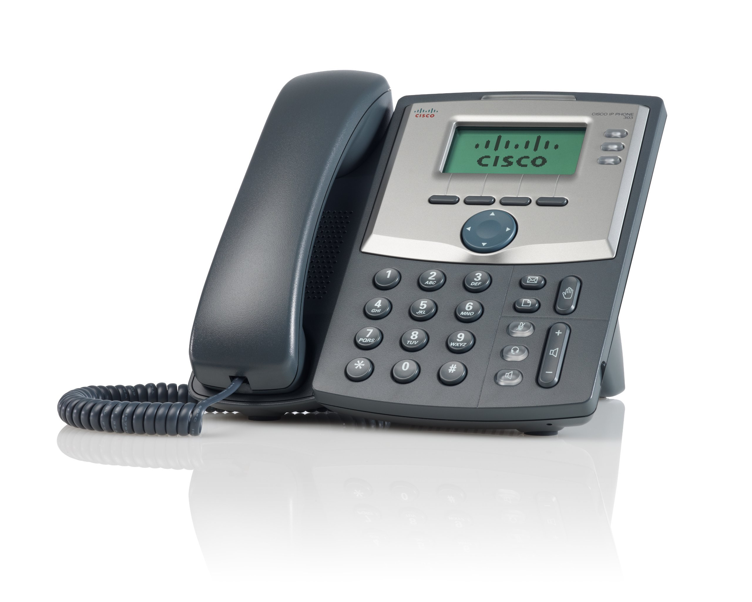 Cisco SPA 303 3-Line IP Phone (Renewed) by Cisco