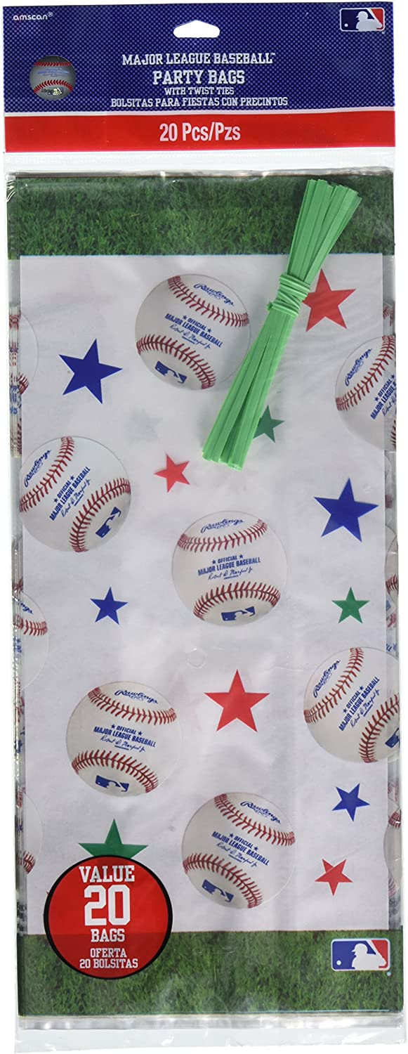 Rawlings Baseball Collection Cello Party Bags 240 Ct.
