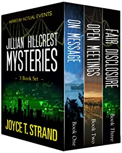 The Jillian Hillcrest Mysteries 3-Book Bundle: On Message, Open Meetings, Fair Disclosure