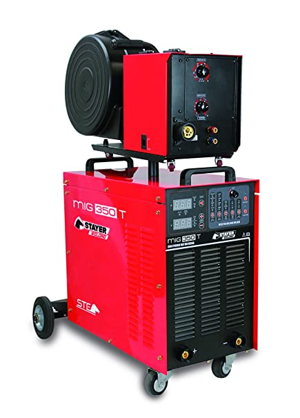 Styayer Welding - Stayer Welding Mig 350 T Inverter Soldadura Mig/Mag - Devanadora Independiente