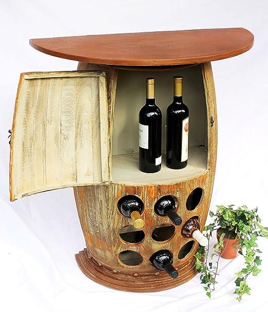 DanDiBo Vino Estante Soporte de Consola Mesa 1500 Bar Botellas 85 ...