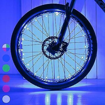 Spoke Signal Light For Bike Bicycle Wheel Lights Tire 32 Pattern LED Safety Hot