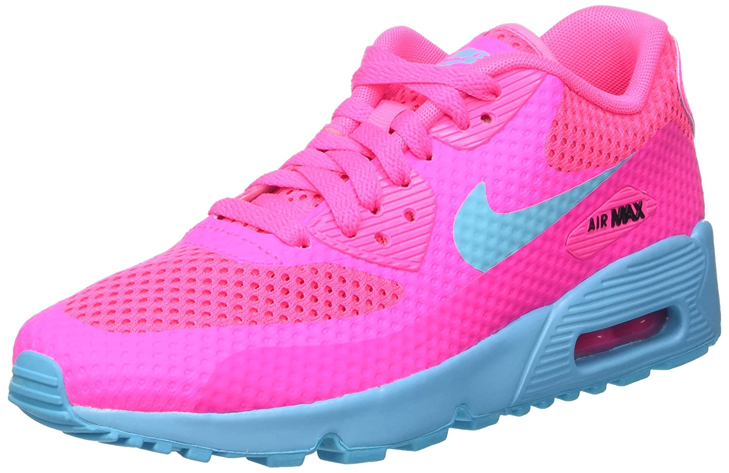 best service 8c4e3 b3293 Amazon.com   Nike Kids Air Max 90 BR GS, PINK BLAST GAMMA BLUE-BLACK, Youth  Size 5   Sneakers