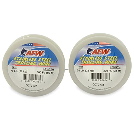 American Fishing Wire Stainless Steel Trolling Wire Single Strand