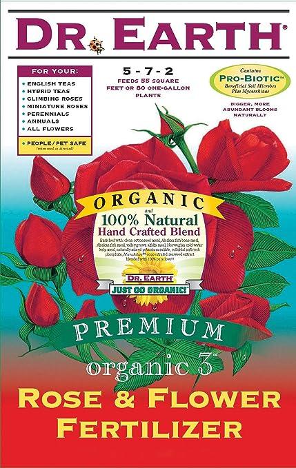 Amazon.com   Dr. Earth Rose   Flower 5-7-2 (CA OK) Fertilizer e599a1a6f15