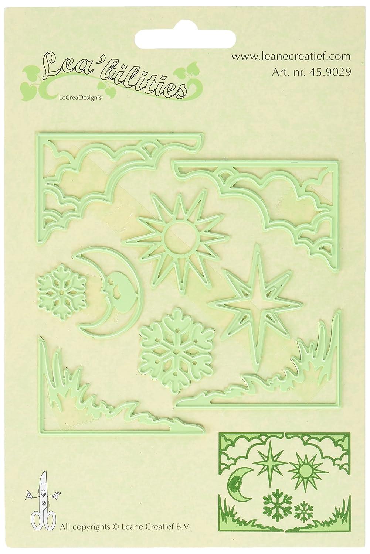 Ecstasy Crafts leabilities Corte y Relieve Troqueles, Sol diseño de Sol Troqueles, y Luna ce41cf