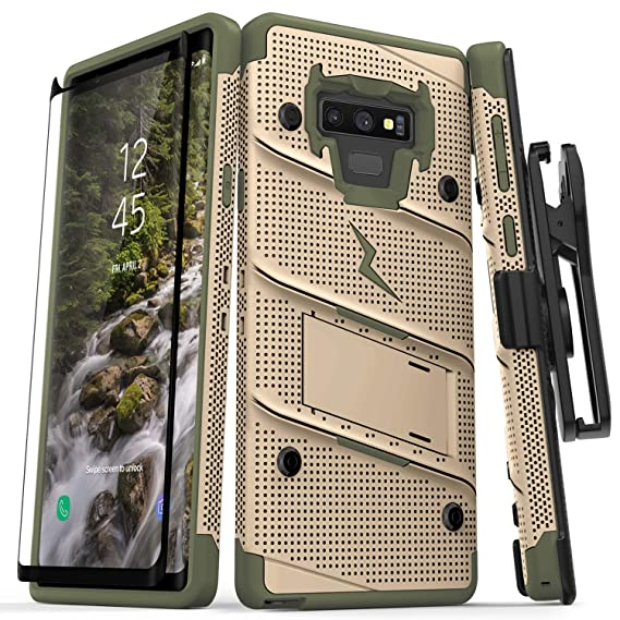 innovative design 6c66d ad90c Amazon.com: Zizo Bolt Series Galaxy Note 9 Case with Holster ...