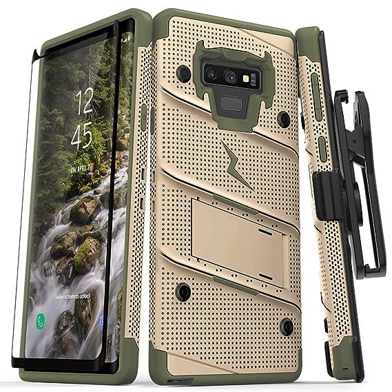innovative design 47087 4fac6 Amazon.com: Zizo Bolt Series Galaxy Note 9 Case with Holster ...