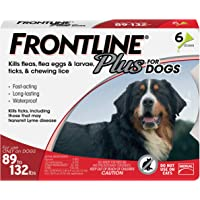 Frontline Plus Flea and Tick Treatment for Extra Large Dogs