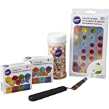 Wilton Beginner Basic Gel Icing Colors Set, 5-Piece