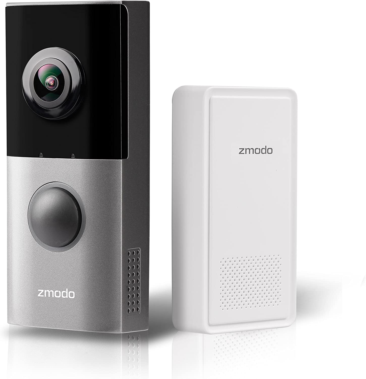 Zmodo Greet Pro Smart Video Doorbell with WiFi Extender, Full HD 180 Degree Wide Angle Camera, Dual Band
