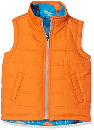 86e32880d9c Hatley Boy's Reversible Vest Gilet: Amazon.co.uk: Clothing