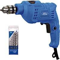 Ford tools Electric Impact Drill with 5 PieceS Concrete Drill Bit Set, 500W, FE1-1008