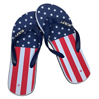 Men's Patriotic Flag Sandal Flip Flop