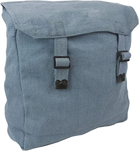 Highlander Mens Cotton Canvas Adjustable Webbing Haversack Bag
